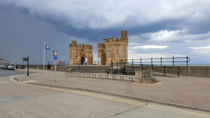 The towers and the model of the pier, Withernsea