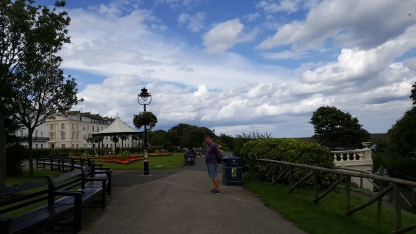 The bandstand in Crescent Gardens, Filey