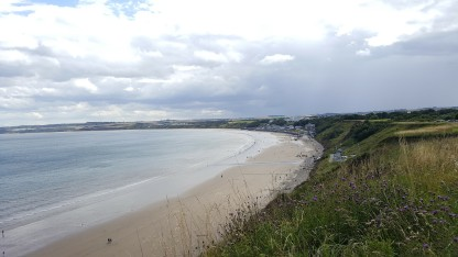 View of Filey Beach from the Country Park