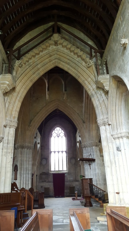 Inside the church at Patrington