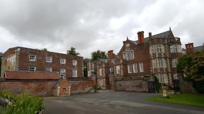 Burton Agnes - Norman Manor House on the left