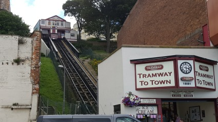 Central tramway from the promenade, Scarborough