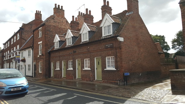 Almshouses in Beverley