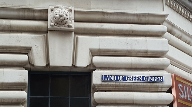 Land of Green Ginger - a street in Hull