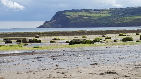Looking towards Redcar from Robin Hood's Bay