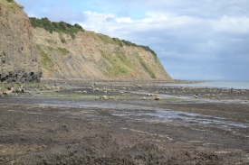 The long slipway end of the beachway, Robin Hood's Bay