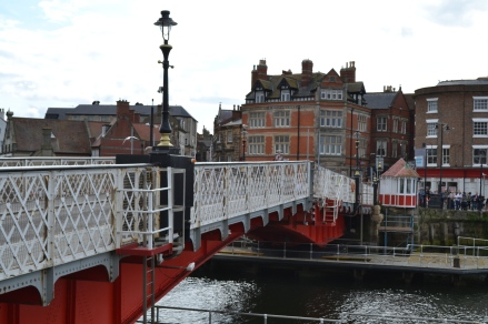 The swing bridge, Whitby