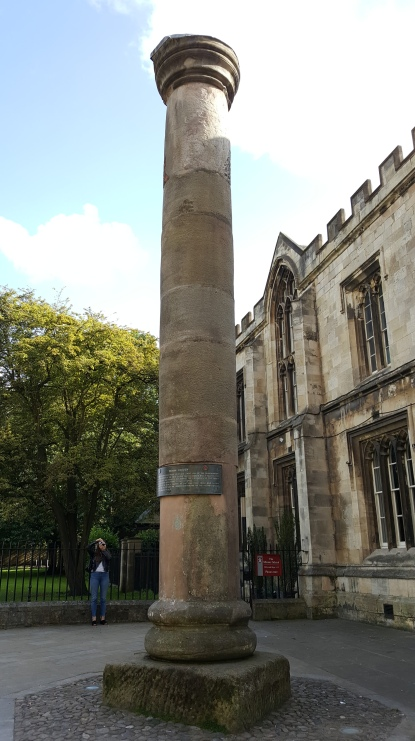 Roman Column in Minster Square
