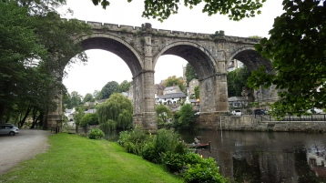 The viaduct at Knaresborough