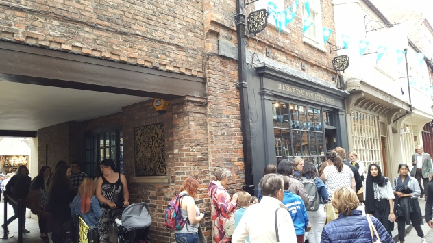 The Shop That Must Not Be Named on The Shambles