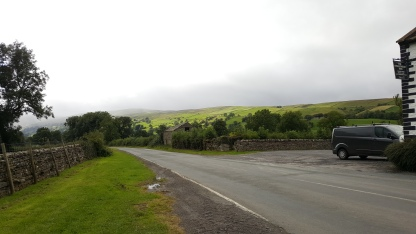 View along the road from Street Head Caravan Park