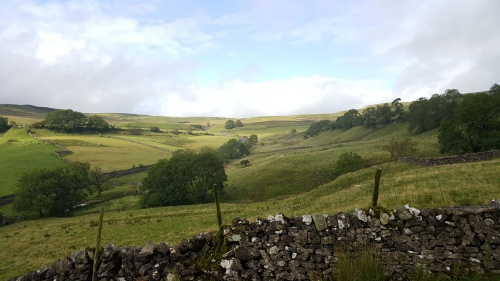 View across Buckden Pike
