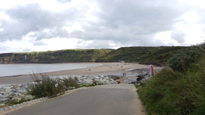 Looking down toward Runswick Bay