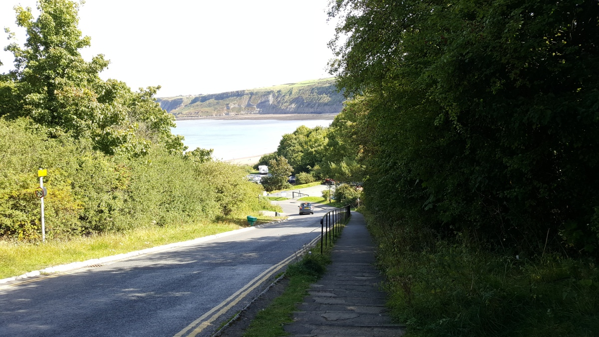 Our 1st day back in the North York Moors – a day on thecoast
