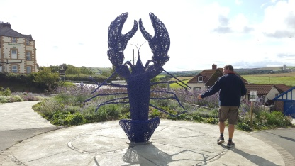 At the top of the Hill in Staithes