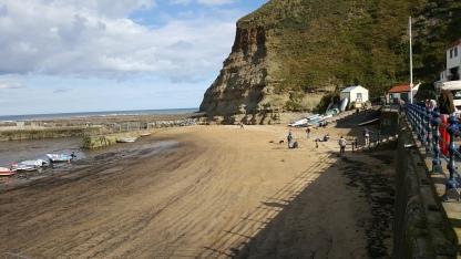 Staithes beach