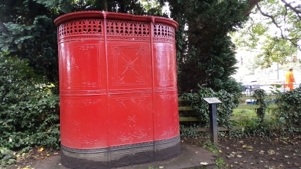 Victorian Urinal sited in Waterfall Park