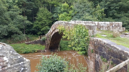 Beggards Bridge across the River Esk at Glaisdale