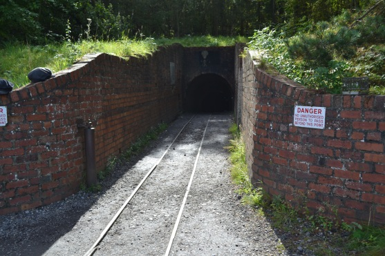 Entrance to the pit at Beamish