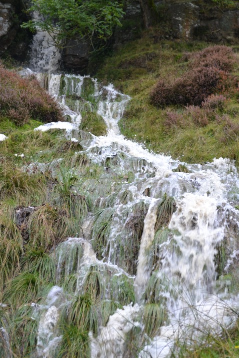 Waterfall by Goathland station