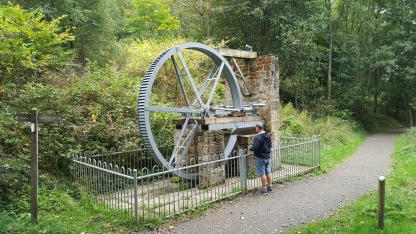 A water wheel at Cragside