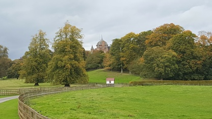 View of Thirlestane Castle from the main road