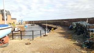 The harbour at Dunbar