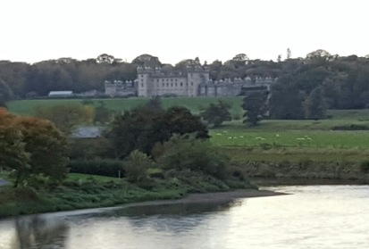 Floors Castle from the Riverside