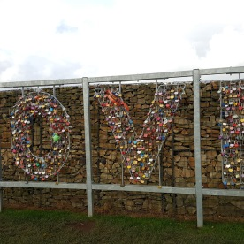 'Love' sign at Gretna Green (Turnrightoutofportsmouth.com)