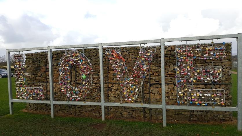 'Love' sign at Gretna Green (Turnrightoutofportsmouth.com)