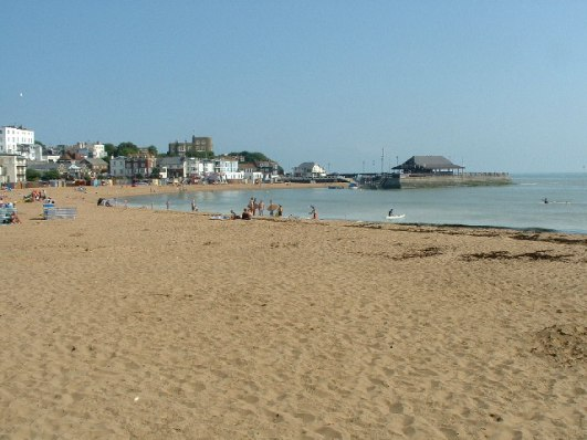 Broadstairs Beach (library photo)