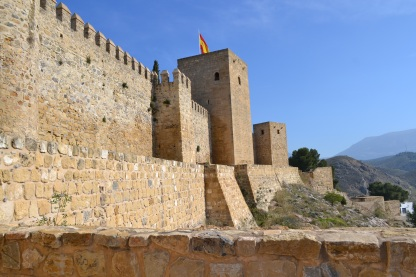 The Alcazaba walls of Antequera