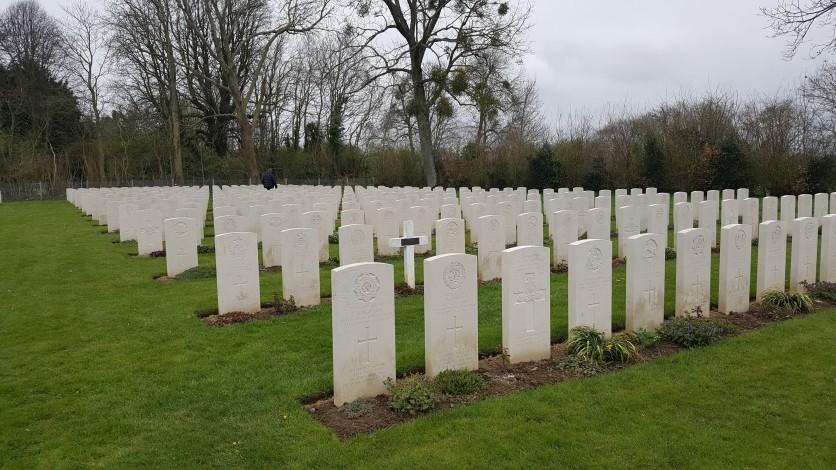 British Cemetery at Hermanville-sur-Mer