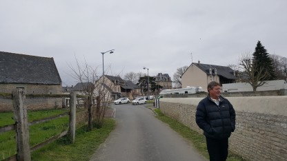 Motorhome Aire, Hermanville-sur-Mer
