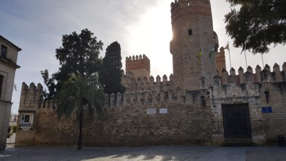 The Alcazaba at El Puerto de Santa Maria