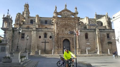 Church in El Puerto de Santa Maria (complete with Stork nests)