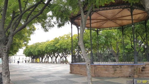 Bandstand on the Alameda, Jerez