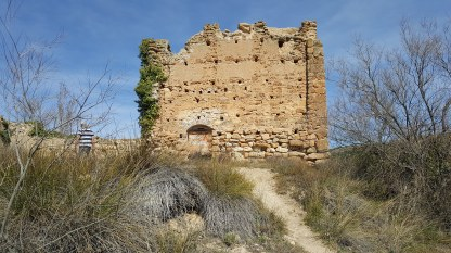 The old 'castle' on the lake at Nuevalos