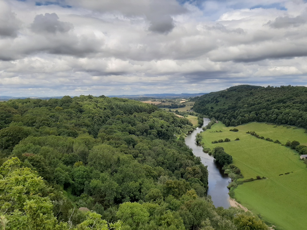 Walking and Kayaking in Symonds Yat