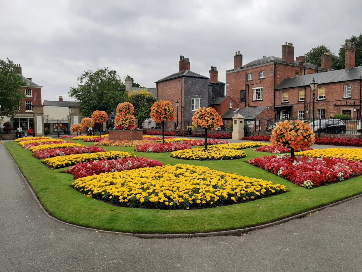 A short trip around Oswestry and Shrewsbury