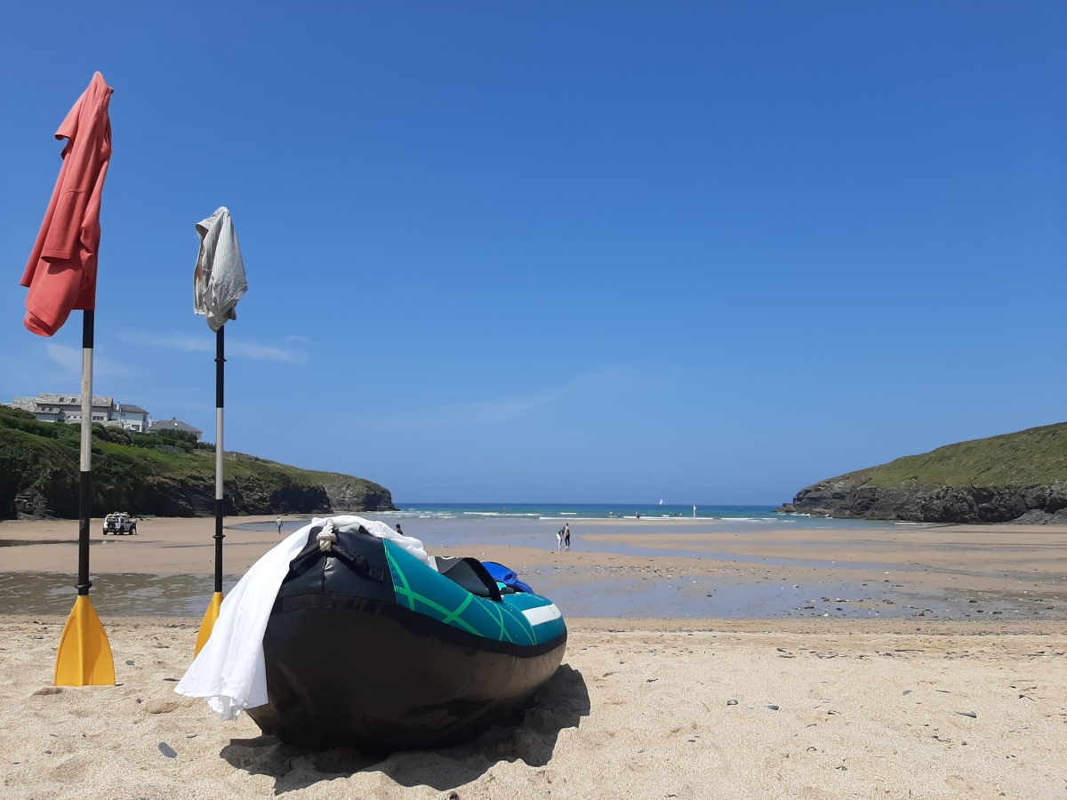 A New Discovery in North Cornwall – Porthcothan Bay:)